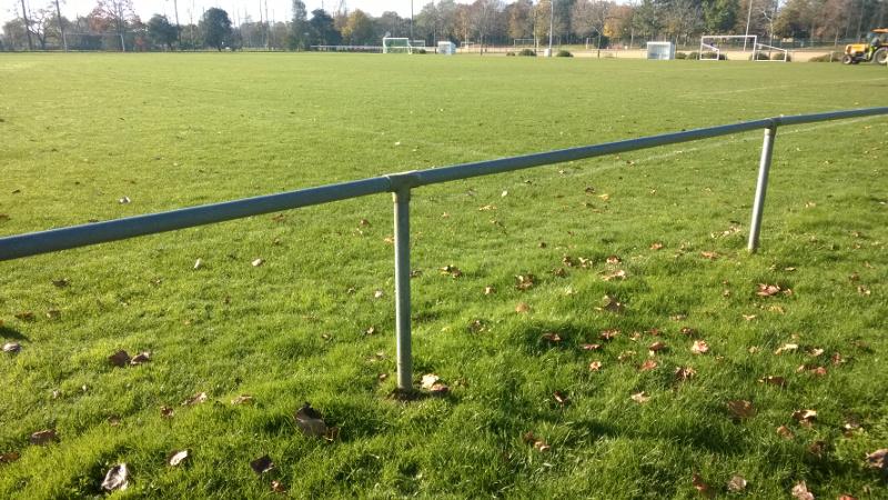 Barrière terrain de foot